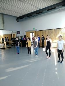 Erarbeitung einer Choreographie