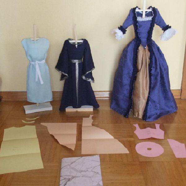 Abschlussarbeit, Kostüme Q12